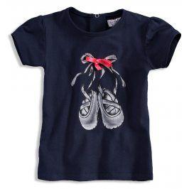 Dívčí tričko DIRKJE BALERINA tmavě modré Velikost: 56