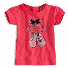 Dívčí tričko DIRKJE BALERINA růžové Velikost: 56