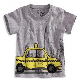 Tričko pro kluky LOSAN TAXI šedé Velikost: 68