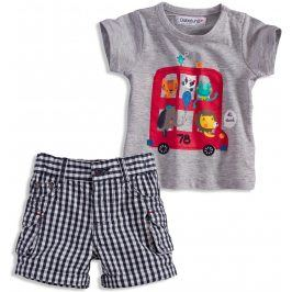 Letní kojenecká souprava BABALUNO ABOARD Velikost: 56-62