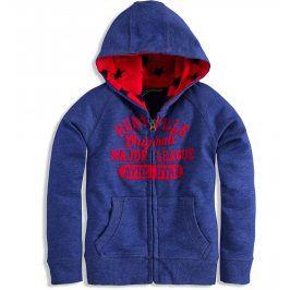 Dětská mikina s kapucí Minoti BEEP modrá Velikost: 80