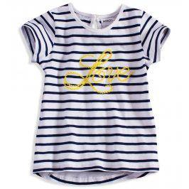 Kojenecké tričko pro holky Minoti modré Velikost: 80