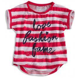 Dětské tričko s krátkým rukávem MINOTI COAST červené Velikost: 98-104