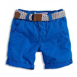 MINOTI Chlapecké chino šortky s páskem CRAFTED Velikost: 98-104