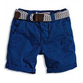 MINOTI Chlapecké chino šortky s páskem CRAFTED Velikost: 110-116