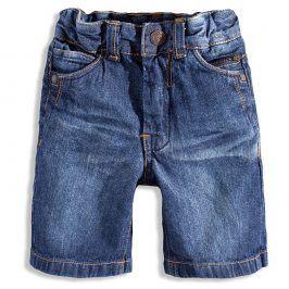 KNOT SO BAD Dětské džínové kraťasy KnotSoBad modré Velikost: 92