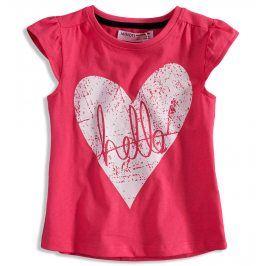 Kojenecké dívčí tričko MINOTI RIVIERA růžové Velikost: 80