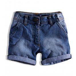 Dívčí džínové šortky MINOTI RIVIERA tmavě modré Velikost: 92