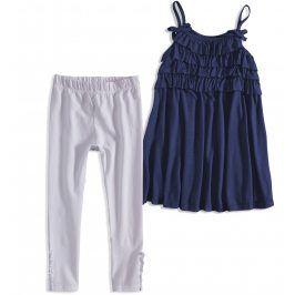 Dívčí letní souprava MINOTI RIVIERA tmavě modrá Velikost: 98-104