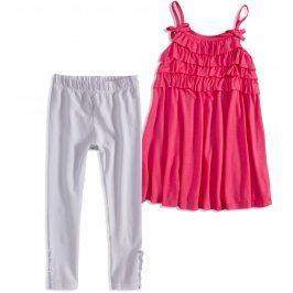 Dívčí letní souprava MINOTI RIVIERA růžová Velikost: 98-104