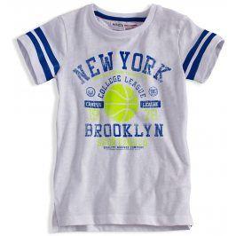 Dětské tričko s potiskem MINOTI SPARTAN bílé Velikost: 140-146
