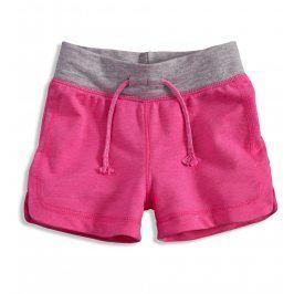 Dívčí šortky Minoti VARSITY růžové Velikost: 128-134
