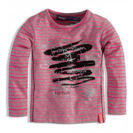 Kojenecké dívčí triko s potiskem DIRKJE RŮŽOVÉ Velikost: 62