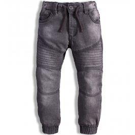 Dětské džíny MINOTI MONO elastické šedé Velikost: 98-104