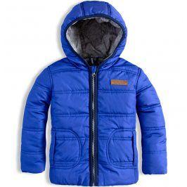 Kojenecká zimní bunda DIRKJE NO RULES modrá Velikost: 62