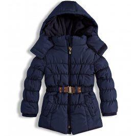 Dívčí zimní bunda KNOT SO BAD LOVELY tmavě modrá Velikost: 92
