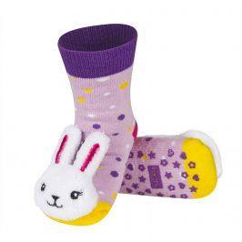 Ponožky s chrastítkem SOXO KRÁLÍK Velikost: 19-21