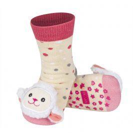 Ponožky s chrastítkem SOXO OVEČKA Velikost: 19-21
