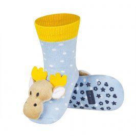 Ponožky s chrastítkem SOXO SOBÍK Velikost: 19-21