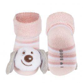 Ponožky s chrastítkem SOXO PEJSEK Velikost: 16-18