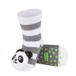 Ponožky s chrastítkem SOXO PANDA Velikost: 19-21