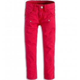 Dívčí barevné džíny DIRKJE červené Velikost: 92