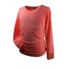 Dívčí triko DIRKJE LALA oranžové Velikost: 92