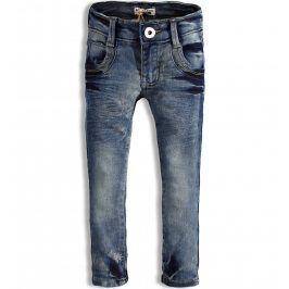 Dívčí elastické džíny DIRKJE STYLISH modré Velikost: 92
