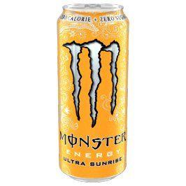 Monster Ultra Sunrise 0,5l