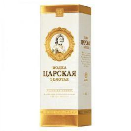 Carskaja vodka Vodka Carskaja Gold 40% 0,7l dárkové balení