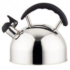 TORO Nerezová konvice na čaj 2 l s černou plastovou rukojetí