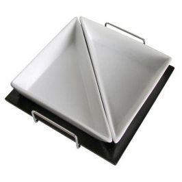 TORO Sada trojúhelníkových misek, 2 ks