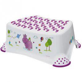 Keeeper Dětská stolička HIPPO - bílá
