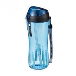 LOCK&LOCK Sportovní láhev 550 ml se silikonovým brčkem - modrá