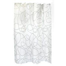 TORO 263213 textilní bílá se vzorem 180 x 180 cm