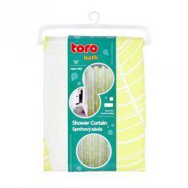 TORO 263212 textilní žlutý 180 x 180 cm