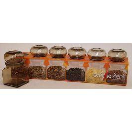 Provence Kořenka, set 6 ks, objem 120 ml, 5,6 x 9,6 x 5,6 cm