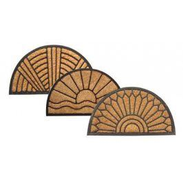 Tapi Rohožka půlkruh guma/kokos 40x70 cm