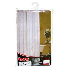 TORO 263214 textilní bílá se vzorem 180 x 180 cm