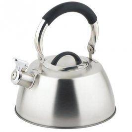 TORO Nerezová konvice na čaj 2,8 l s černou plastovou rukojetí