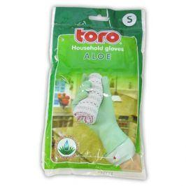 TORO 600503 gumové rukavice aloe, velikost S