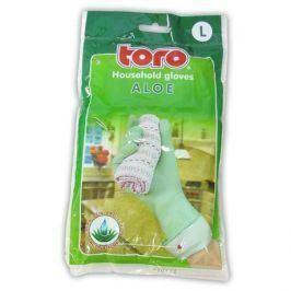 TORO 600505 gumové rukavice aloe, velikost L