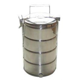 TORO Jídlonosič TORO, čtyři patra, objem 4x1 l, průměr 16 cm