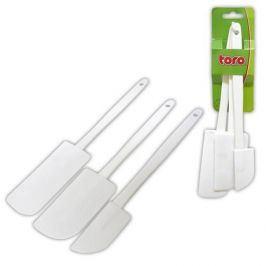 TORO Stěrka na pečení 3 ks, 26, 5 x 4, 6 cm, 24, 5 x 5 cm, 25 x 3 cm