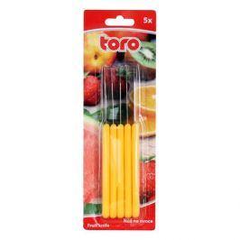 TORO NŮŽ NA OVOCE 15,5CM, 5KS, ASSORT