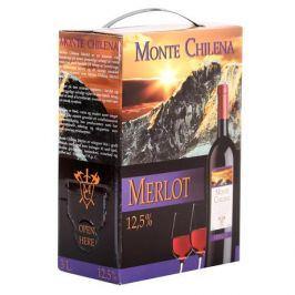 Monte Chilena MERLOT MONTE CHILENA 3L BAG-IN-BOX