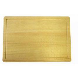 TORO dřevěné prkénko obdélníkové, 25 x 18 x 1 cm