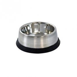 Kitos Miska hluboká pro zvířata s protiskluzovou gumou, nerez, 16 cm