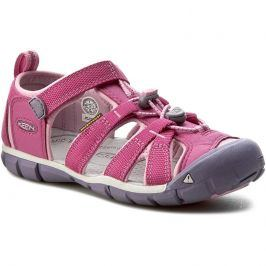 Dětské sandály Keen Seacamp II CNX JR Dětské velikosti bot: 39 (7) / Barva: fialová