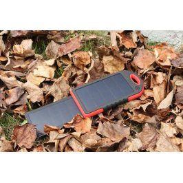 Solární power banka Coelsol SPB5D 5000 mAh Barva: červená